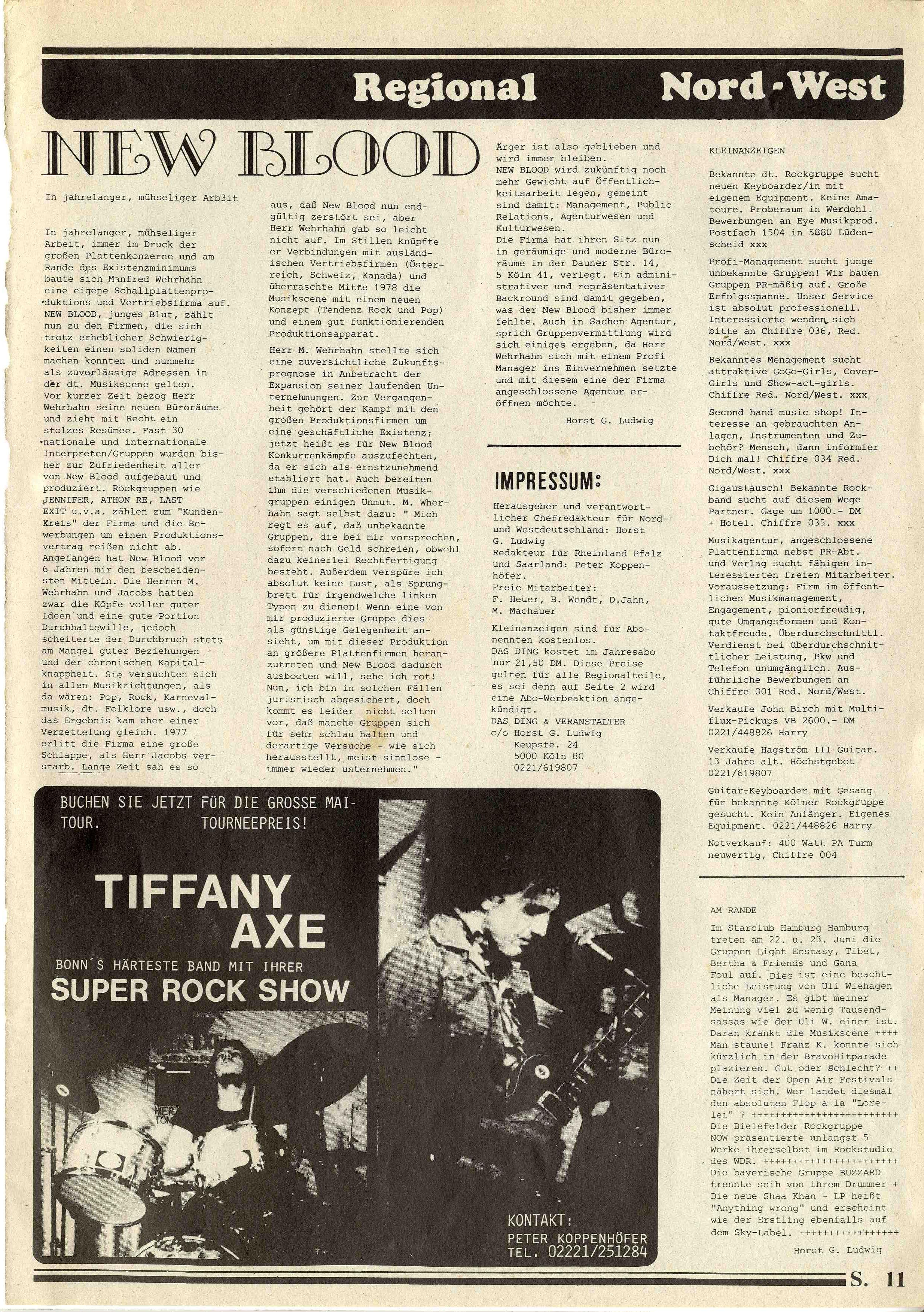 Nord und Westdeutschland-Seite 11-New Blood-Jennifer ca1977