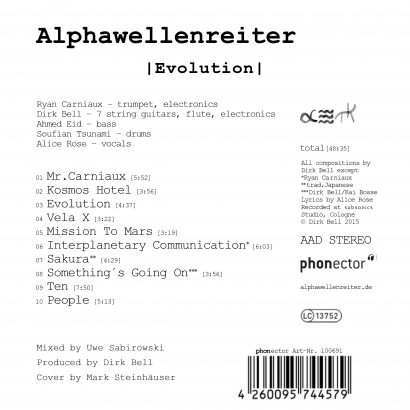 Alphawellenreiter – Evolution